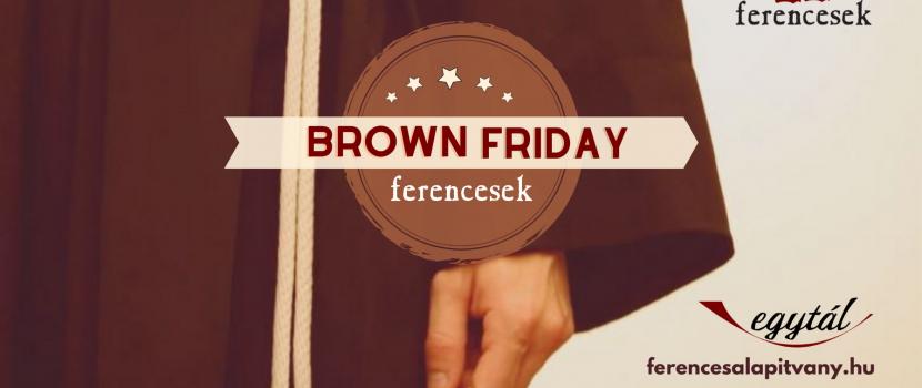 Karácsonyig minden péntek Brown Friday!